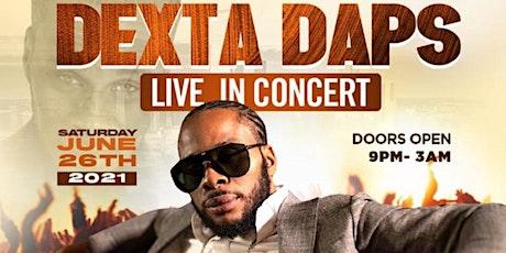 Dexta daps live in concert Nashville tickets