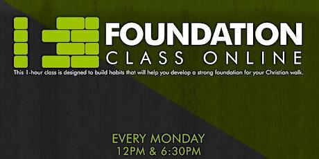 Triumph Church Foundation Class (VIRTUAL) tickets