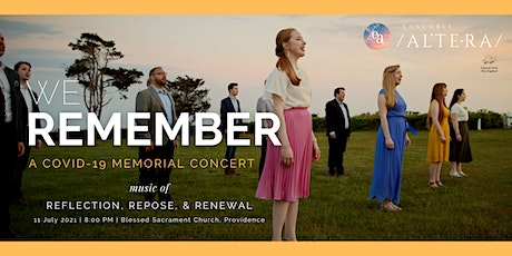 We Remember: A COVID-19 Memorial Concert tickets