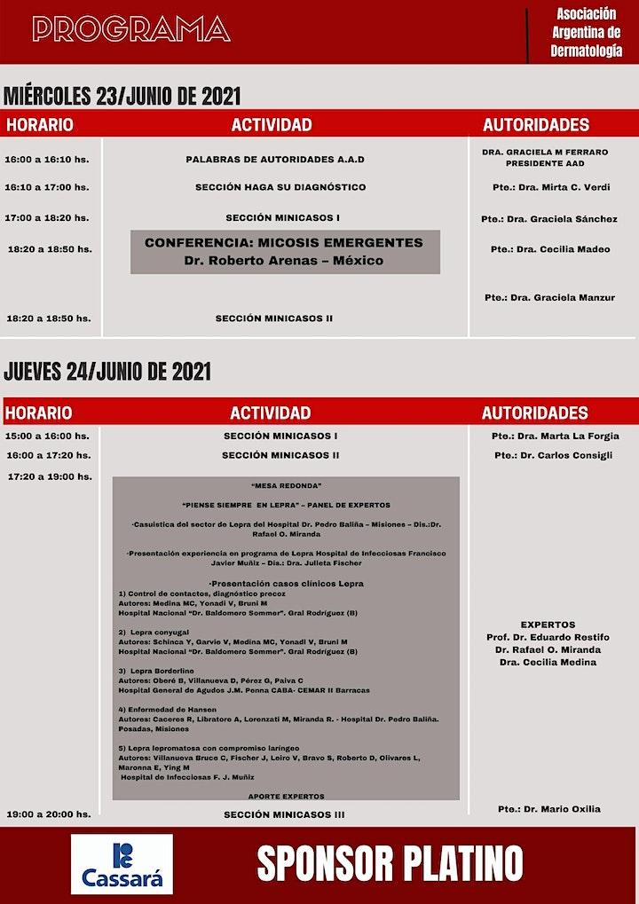 Imagen de XLVI CURSO DE ACTUALIZACIÓN EN TERAPÉUTICA Y CLÍNICA DERMATOLÓGICA