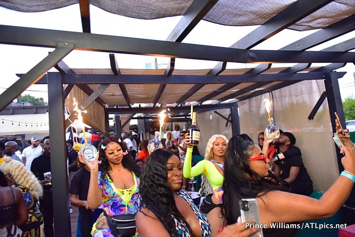 MAYWEATHER VS LOGAN THE HOTTEST BRUNCH/ DAY PARTY!!  FOOD, DRINKS, HOOKAH image