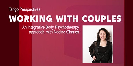 Working with couples, an integrative body psychotherapy approach tickets