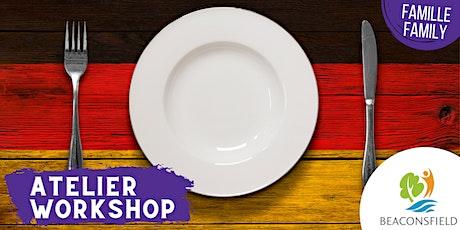 Cuisinez: nourriture allemande / Get cooking : German cuisine billets