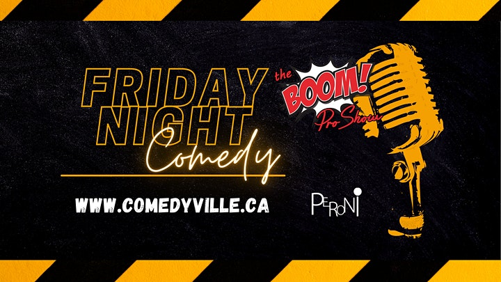 Live English Stand-Up  Comedy - ComedyVille.ca image