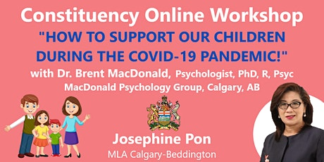 How to Support Our Children During the COVID-19 Pandemic! tickets