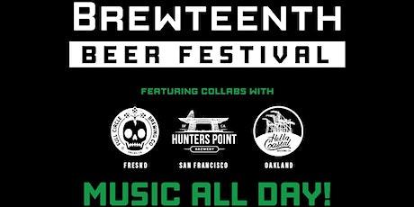Brewteenth Beer Festival Tasting Ticket tickets