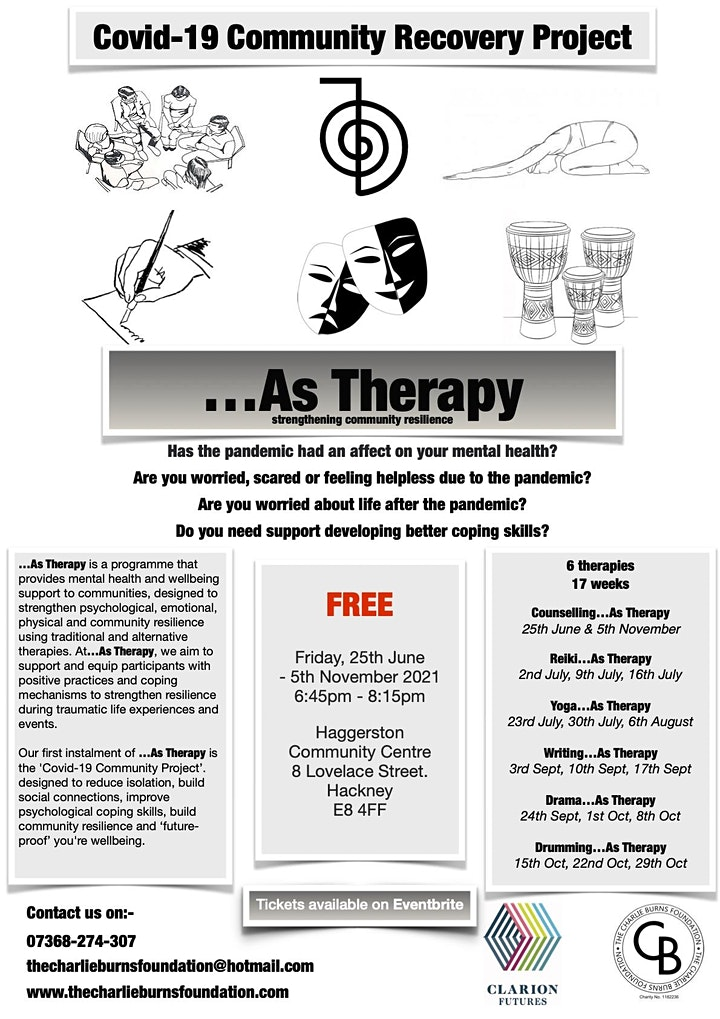 Drama...As Therapy image