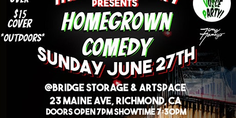 The Voice Party Presents Homegrowm Comedy tickets