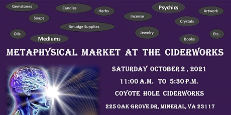 Metaphysical Market at the Ciderworks tickets
