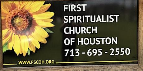First Spiritualist Church of Houston Sunday Service tickets