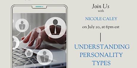 Understanding Personality Types tickets