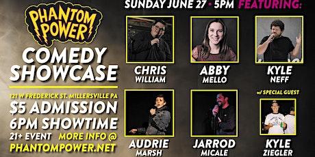 Phantom Power Comedy Showcase tickets