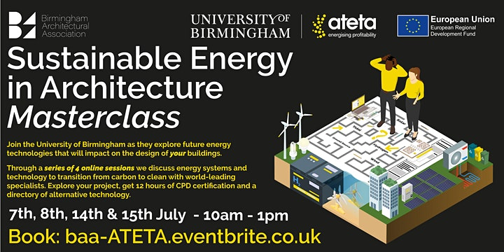 Sustainable Energy in Architecture Masterclass image