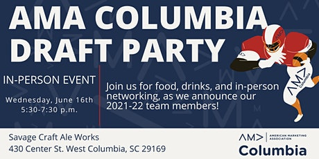 AMA Columbia Draft Party tickets