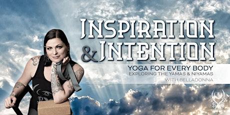 Week 9- Inspiration & Intention- Svadhyaya tickets