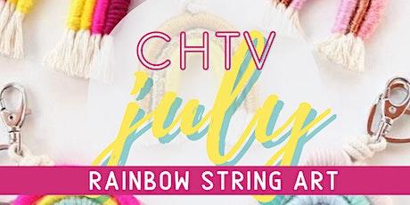 Craft Happy TV Rainbow String Art Virtual Workshop with Craft Happy tickets