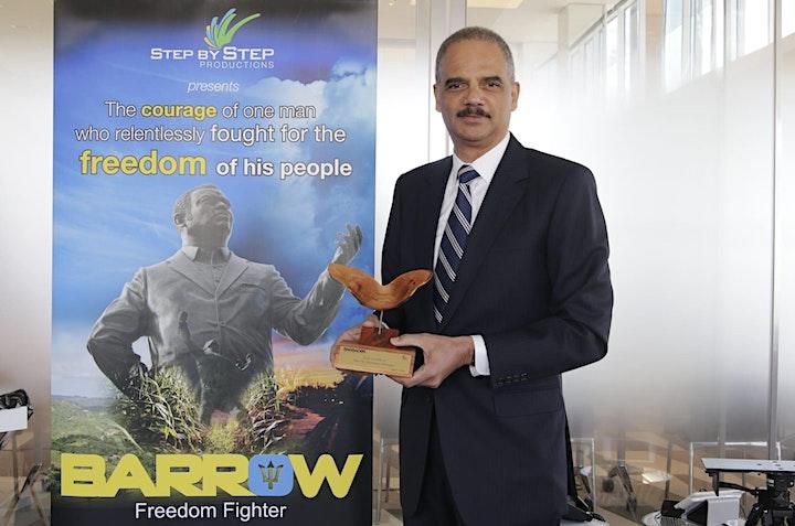 Errol Barrow Freedom Fighter film plus  Q&A image
