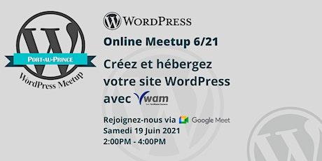 Créez et géré votre site WordPress avec Vwam billets