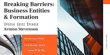 Breaking Barriers Business Development Class tickets