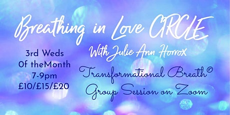 ONLINE - Monthly Breathing Circle, for Experienced Breathers tickets