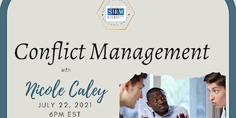Conflict Management tickets