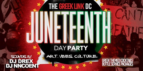 The Greek Link DC | Juneteenth Day Party tickets