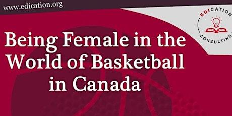 Breaking Barriers through Brave Conversations- Being Female in Basketball biglietti