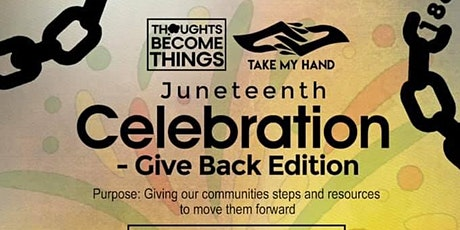 Juneteenth GIVE BACK tickets