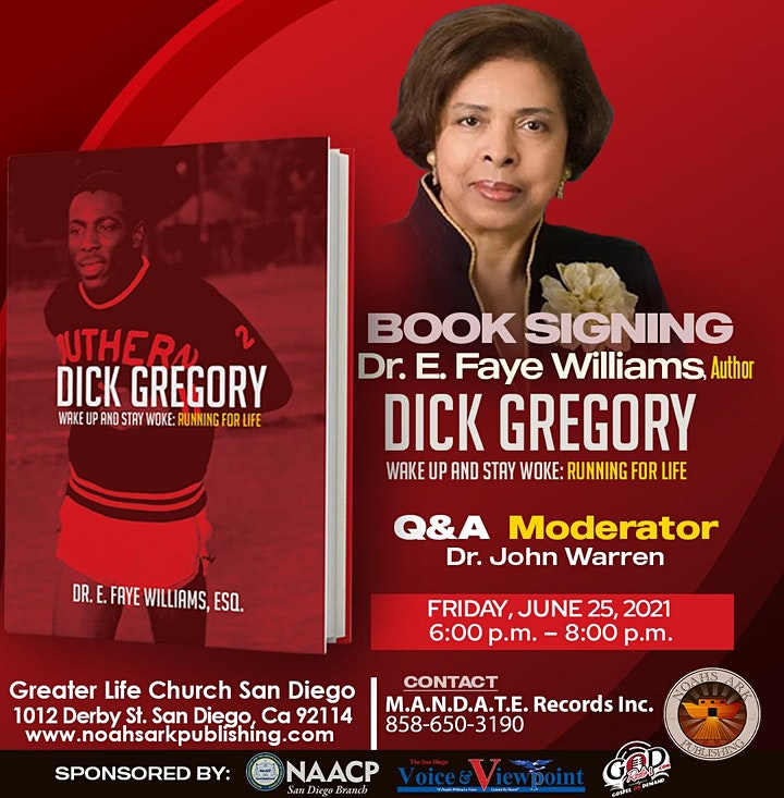 Author Event & Book Signing: Dr. E. Faye Williams image