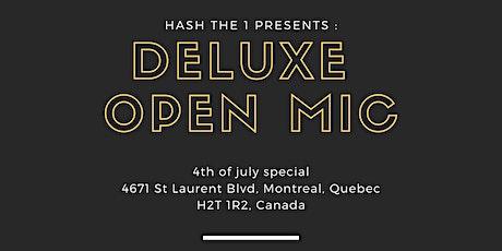 Deluxe :Open mic tickets