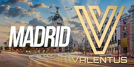 Madrid Evento Nacional Valentus tickets