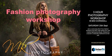 Fashion photography workshop tickets