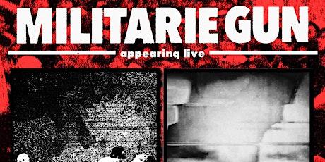 SHORT FICTIONS & MILITARIE GUN w/ LATE BLOOMER & JAR at The Milestone Club tickets