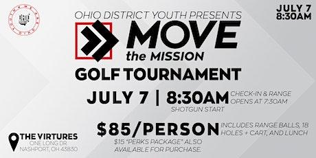 ODY MTM Golf Tournament tickets