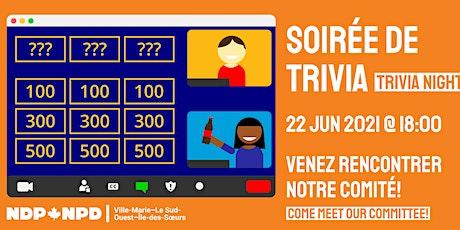 Soirée de trivia/Trivia Night billets