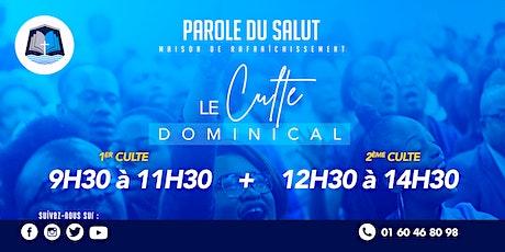 Cultes  dominicaux EEPS (13/06/2021) billets