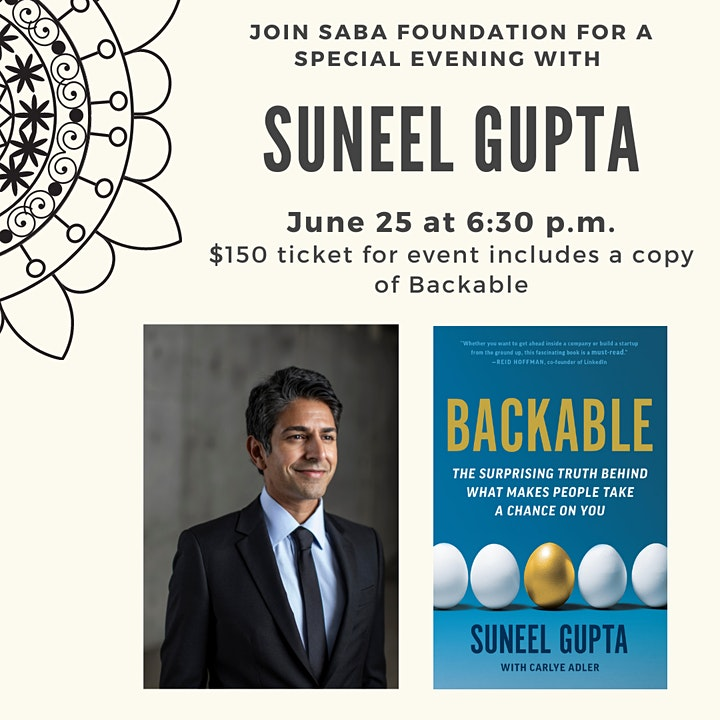 An Evening with Entrepreneur, Founder, and Author Suneel Gupta image