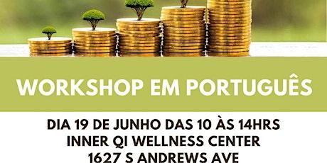QUAIS SÃO SEUS LIMITES PRA PROSPERAR (workshop em português) tickets