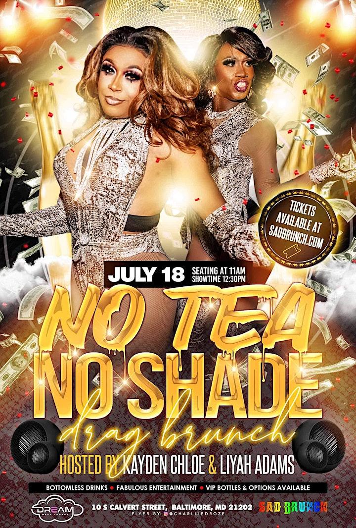 No Tea, No Shade Drag Brunch image