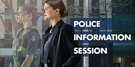 Police Information Session Webinar tickets
