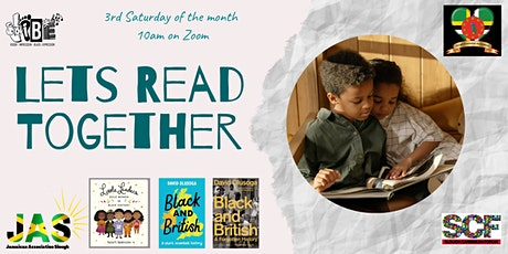 Let's Read Together Family Book Group - August 2021 session tickets