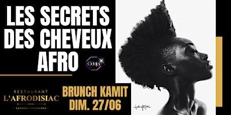BRUNCH MASTERCLASS - LES SECRETS DES CHEVEUX AFRO tickets