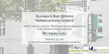 Business&Beer: WoMenventures, Building an Inclusive Ecosystem tickets