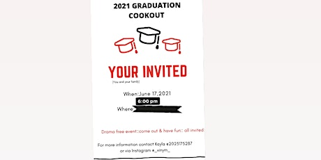 Copy of 2021 Graduation Cookout tickets