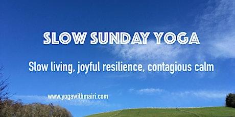 Slow Sunday Yoga tickets