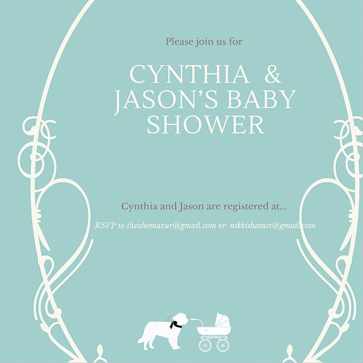 Cynthia and Jason's Baby Shower image