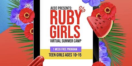 **RUBY GIRLS SUMMER ENRICHMENT PROGRAM!!** tickets