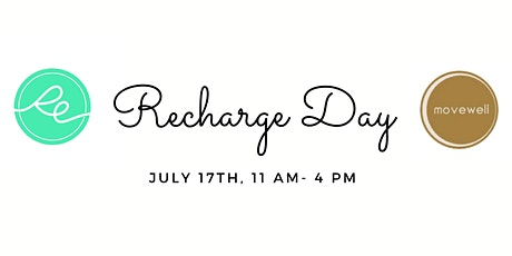 Recharge Day tickets