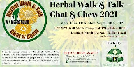 The Herbal Walk & Talk 2021 tickets