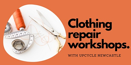 Clothing repair workshops tickets